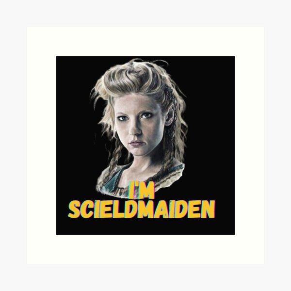 Vikings - Lagertha Shield Maiden Tri-Blend Kunstdruck