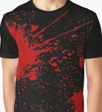 Slayaway Camp - Bloodsplat (Black) Graphic T-Shirt