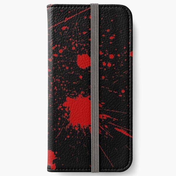 Slayaway Camp - Bloodsplat (Black) iPhone Wallet