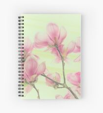 Magnolias Spiral Notebook