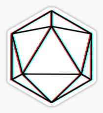 Odesza - Cyan/Red Sticker