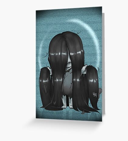 The Ring Samara Greeting Card