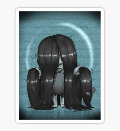 The Ring Samara Sticker