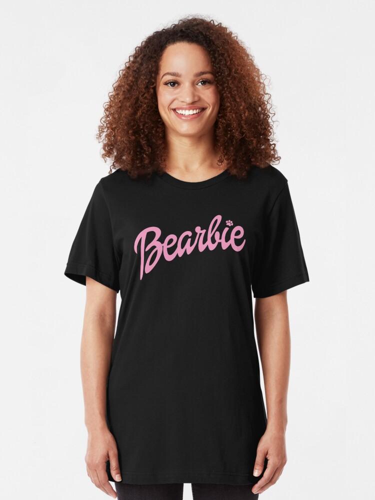 Alternative Ansicht von Bearbie (Pink) Slim Fit T-Shirt
