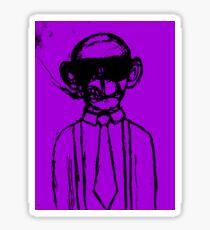 Monkey Business edit Sticker