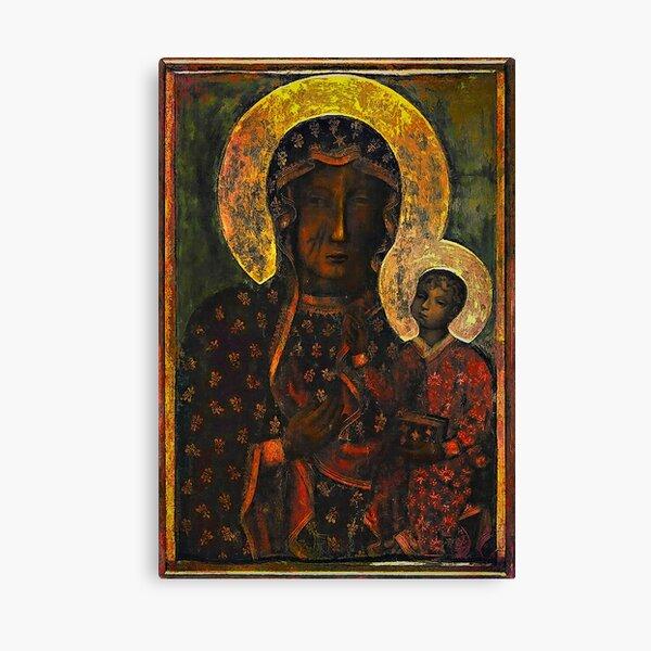 The Black Madonna Canvas Print