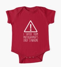 Photographers Child Syndrome One Piece - Short Sleeve