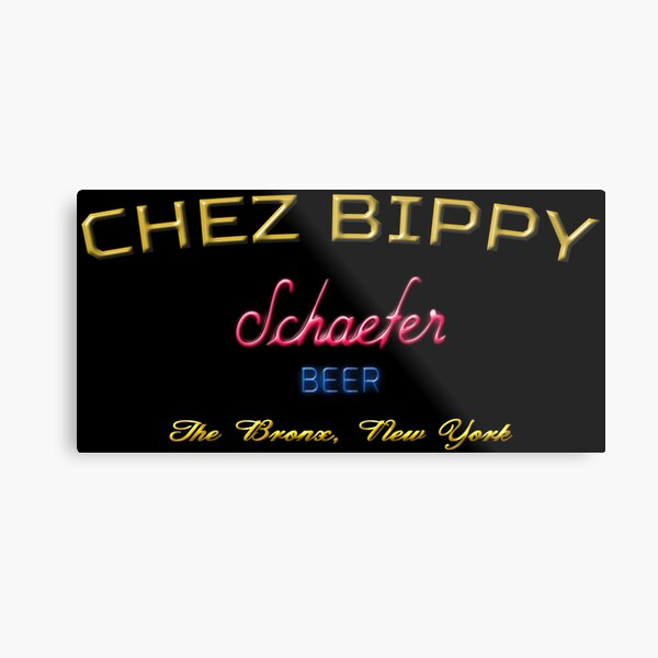 Chez Bippy The Bronx New York Metal Print