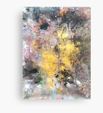 Power From Within 'Rain Painting' Canvas Print