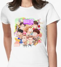 NCT Dream - Chewing Gum Womens Fitted T-Shirt