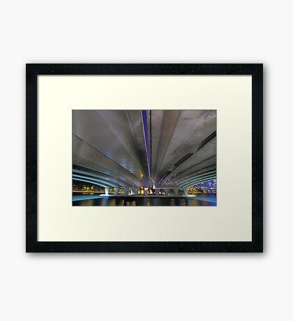 Under The Narrows Bridges  Framed Print
