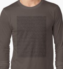 john mayer's discography Long Sleeve T-Shirt
