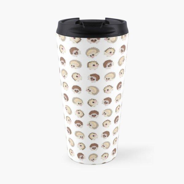 Hedgehog collective pattern Travel Mug