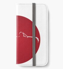 Profile Flag-Japan D2 iPhone Wallet/Case/Skin