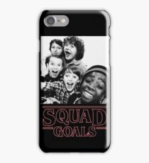 Stranger Things Squad Goals iPhone Case/Skin