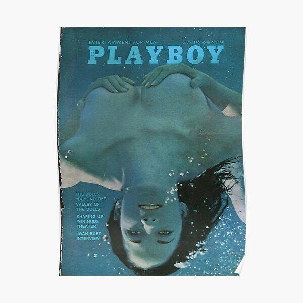 Revista Playboy Covers, julio de 1970 Póster