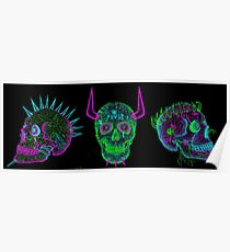 skulls of hate V Poster