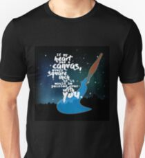 Shadowhunter Chronicles - If My Heart Was a Canvas... Unisex T-Shirt