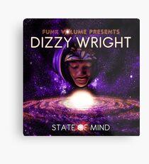 Dizzy Wright State of Mind Metal Print