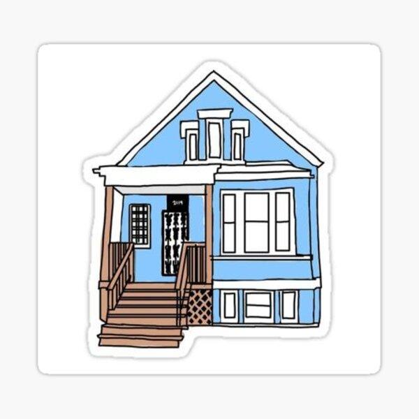 The Gallagher house sticker Sticker