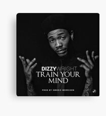 Dizzy Wright State of Mind Canvas Print
