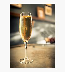 Bubbly Champagne Photographic Print