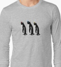 3 Penguins Long Sleeve T-Shirt