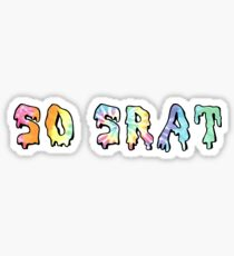 Also, Srat Tie Dye Sticker
