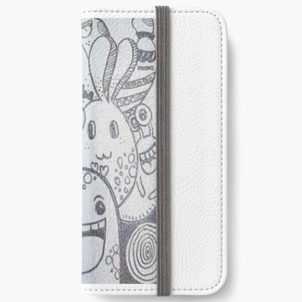 pencil art iPhone Wallet