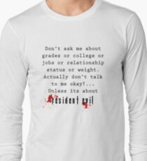 Resident Evil funny quote T-Shirt