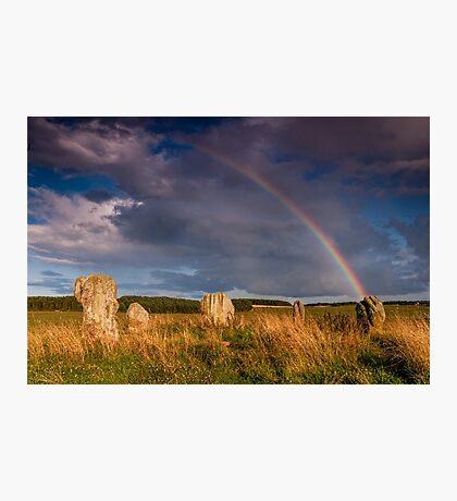 Duddo Stone Circle Photographic Print