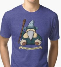 You Shall Not Pass (While I Sleep) Tri-blend T-Shirt