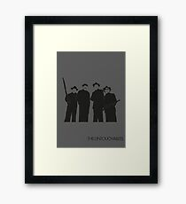 Untouchables Framed Print