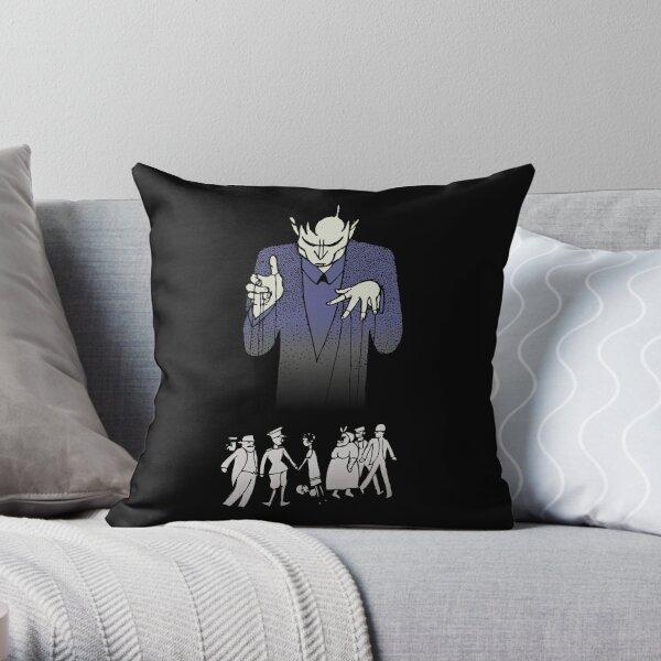 puppeteer, theater, opera, manipulator, wirepuller,  posters, sticker shop, t-shirt shop Throw Pillow