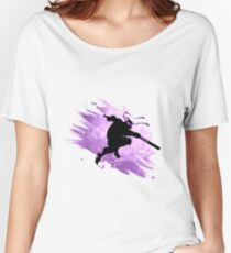 TEENAGE MUTANT NINJA TURTLE DONATELLO Women's Relaxed Fit T-Shirt