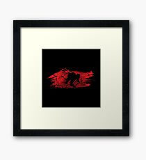TEENAGE MUTANT NINJA TURTLE RAPHAEL Framed Print