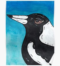Macca the Magpie Poster