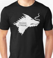 The Desolation Of Smaug - Smaug is Coming T-Shirt