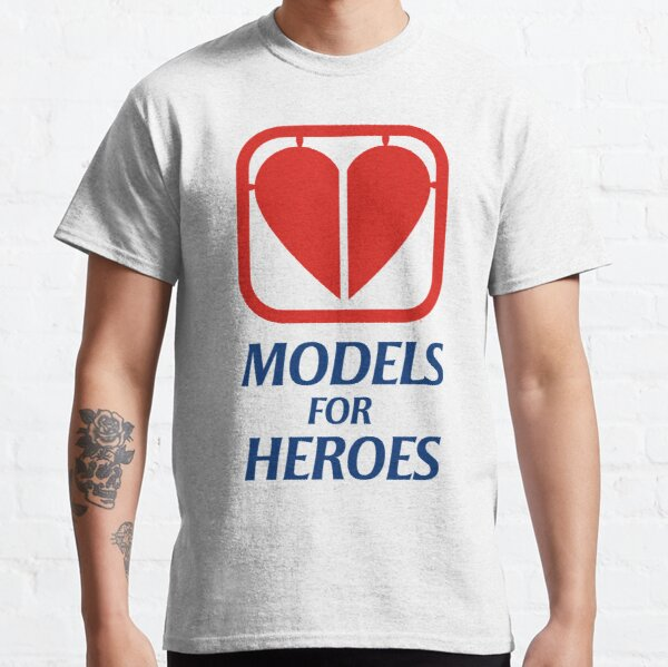 """Models for Heroes """"Heart Part"""" with text for light backgrounds Classic T-Shirt"""