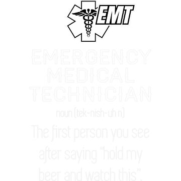 Emergency medical technician by JasonCooke