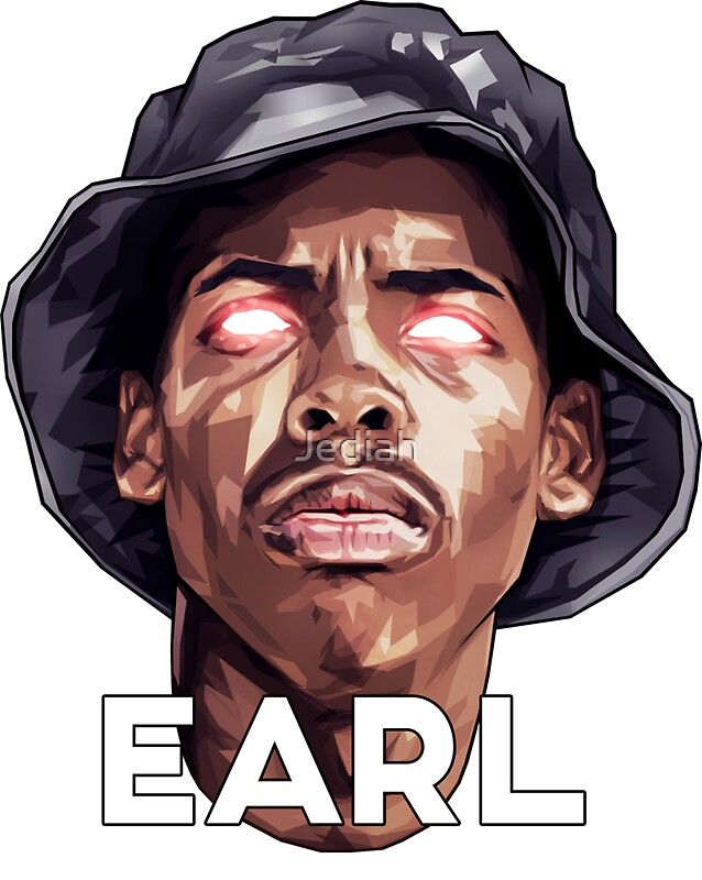 """Earl Sweatshirt / ODD FUTURE"" Stickers by Jediah 