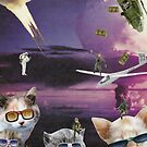 Attack of the Cool Cats by kewzoo