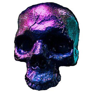 Iridescent Skull  by lilibat