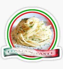 Italian Taste Spaghetti Sticker