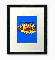 Scott Pilgrim VS The World - Bi- Curious...I'm Bi- Furious Framed Print