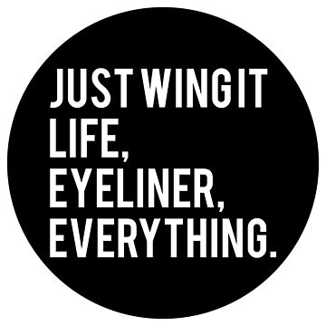 #JustWingIt by QUIRKYT