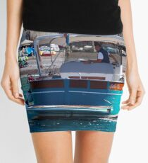 Coastal Scapes Mini Skirt