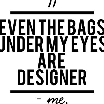 #DesignerBags by QUIRKYT