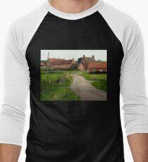 Wellow,  a Quiet Corner. Men's Baseball ¾ T-Shirt
