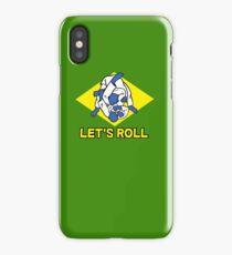Brazilian jiu-jitsu (BJJ) Let's roll iPhone Case